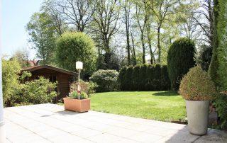 Viktoriastr 11 - Blick in den Garten